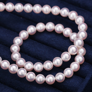 Image 2 - [YS] Top Quality Hanadama Pearl White Japanese Akoya Cultured Pearl Necklace