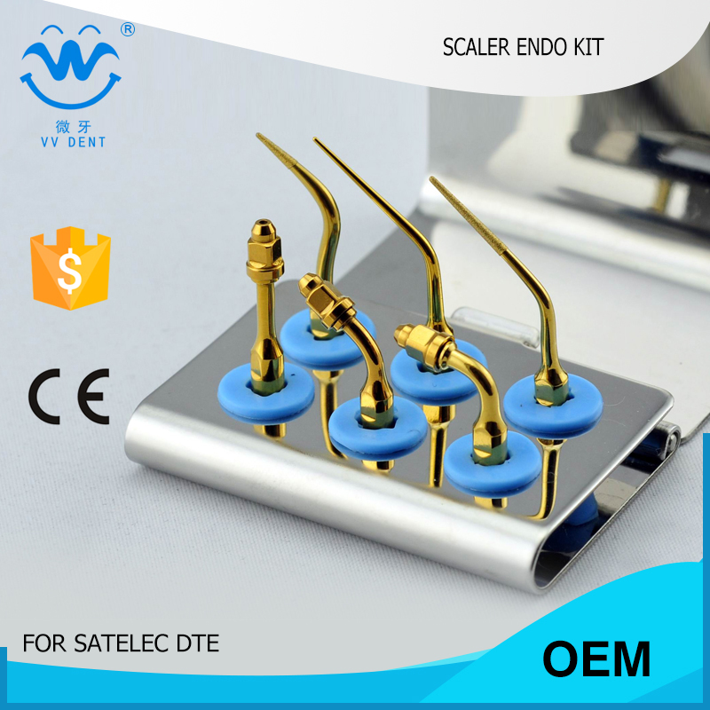 1 set SEKG Dental scaler eododontics tips set FIT Satelec EXCAVUS Kit NSK endo-Set E12 and WOODPECKER DTE V1 scalers 5 sets sekg scaler eododontics tips set fit satelec endosuccess surgery kit nsk endo set e11 and woodpecker dte d1 scalers