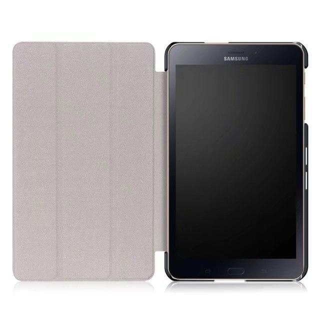 Luxury Fashion Cartoon PU Leather Case For Samsung Galaxy Tab A 8.0 T380 T385 2017 8.0