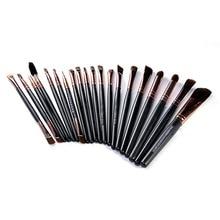 20 Pcs Professional Makeup Brushes Set Powder Foundation Eyeshadow Eyeliner Lip Cosmetic Brushes Maquiagem StockClearance
