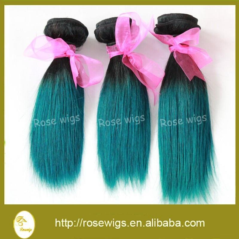 1bgreen Ombre Hair Extensions 7a Ombre Brazilian Human Hair Weave
