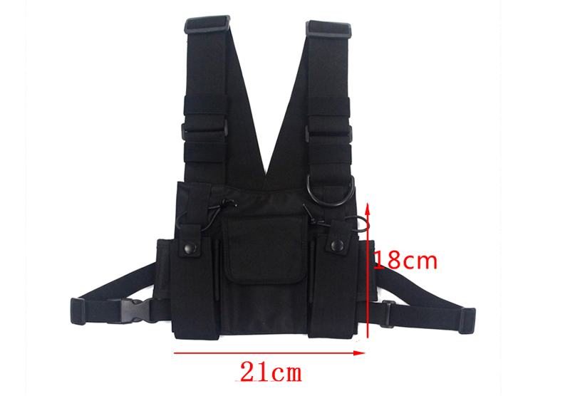 HTB1q7xjLSzqK1RjSZPcq6zTepXaE - Black Tactical Bag Men Nylon Chest Rig Bag Hip Hop Streetwear Functional Boy Chest Rig Kanye West Wist Pack Tactical Waist Pack