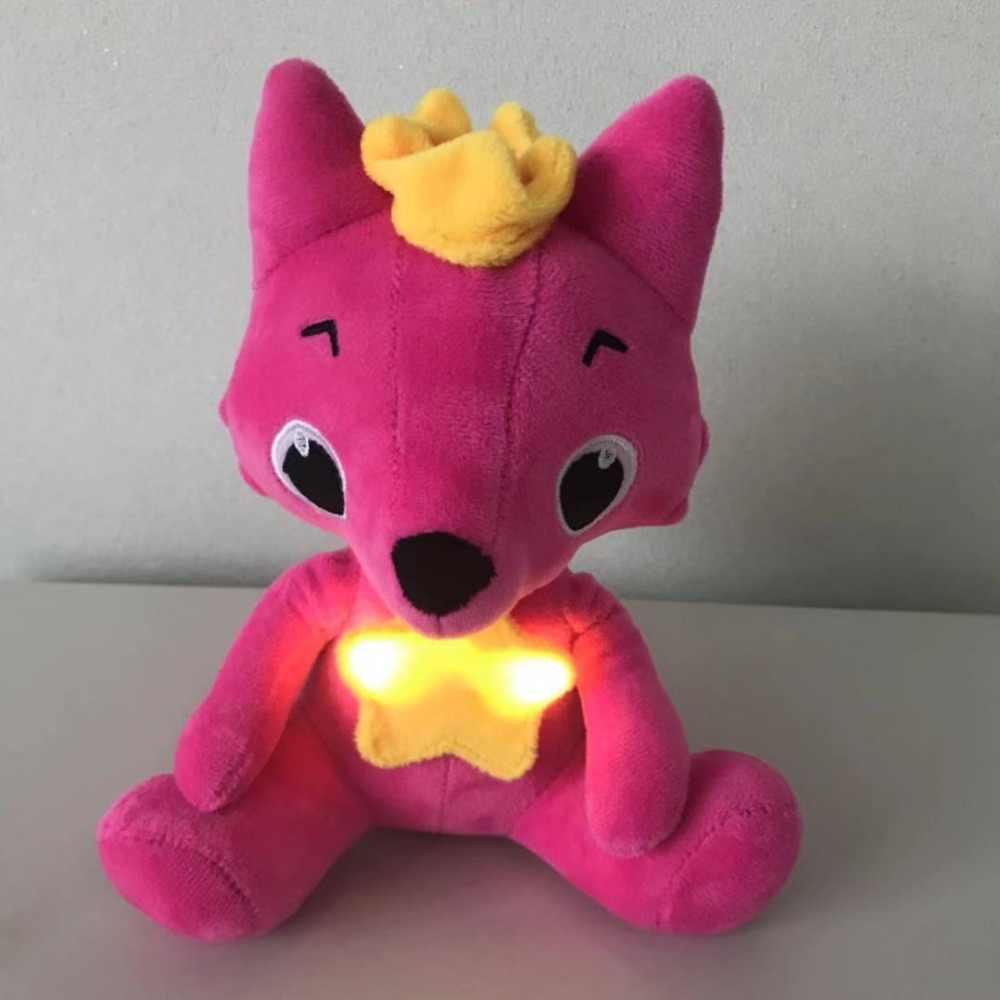 Новая Прямая доставка электрическая прогулочная игрушка, лиса плюшевая мягкая игрушка для животных электронная музыка лиса игрушка для детей рождественские подарки
