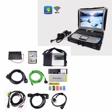 Super MB Star C5 SD Conenct with laptop CF19 CF-19 Toughbook diagnostic PC with mb star c5 newest software 2016.09 HDD for sd c5(China (Mainland))
