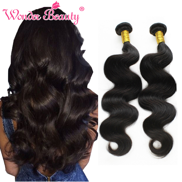 100 Human Hair Weave Brands Virgin Peruvian Human Hair Body Wave 4