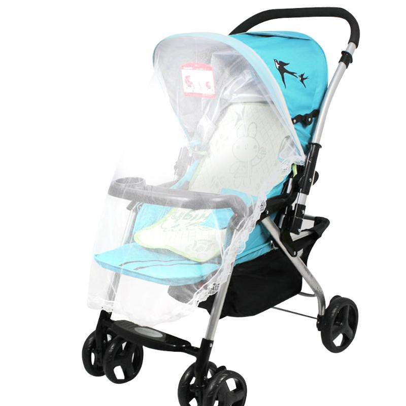 Kids Baby Stroller Accessories Baby Mosquito Net with Bandage for Strollers, Carriers, Car Seats