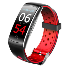 Q8S Smart Wristband Fitness Tracker IP68 Waterproof Sport Bracelet Blood Pressure Heart Rate Monitor  0.96 inch Color Screen