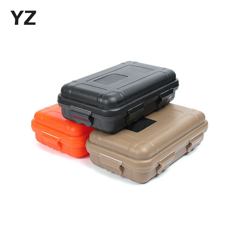 Outdoor Airtight Shockproof Waterproof Boxes Tool Box Survival Storage Case Holder For Matches EDC Travel Sealed Container
