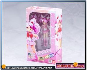 Image 2 - Оригинальная фигурка «Pretty Guardian Sailor Moon», бандаи тамаши нациями, SHF/ S.H.Figuarts Sailor Chibi Moon