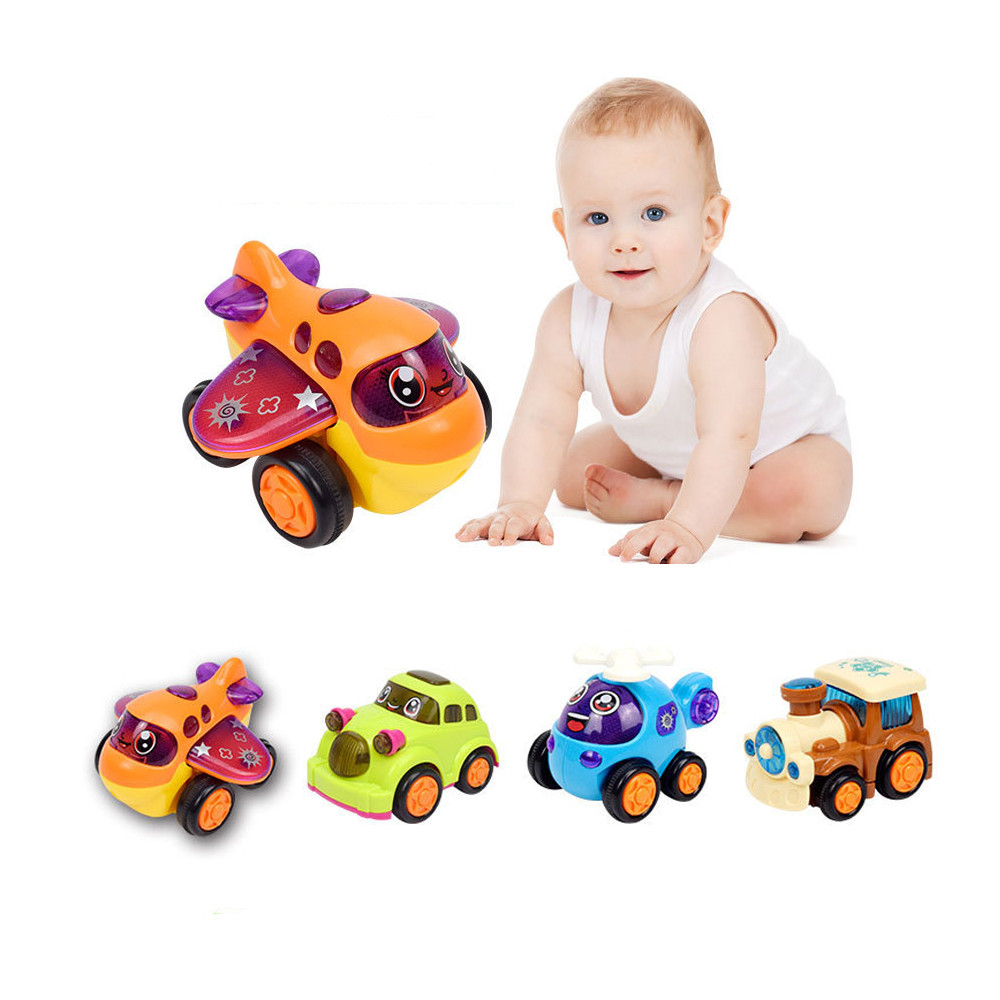 Baby Kids Car Toys Inertia Car Plane Kits Play Cartoon Toys Friction Cute Car Gift Gift for kids Child A1