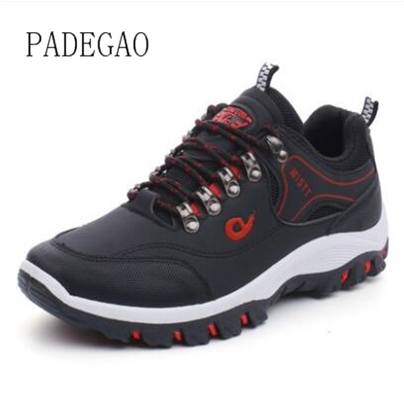Sneakers men's casual shoes new outdoor shoes travel mountaineering non-slip shock absorber shoes wear low to help walking shoes 1