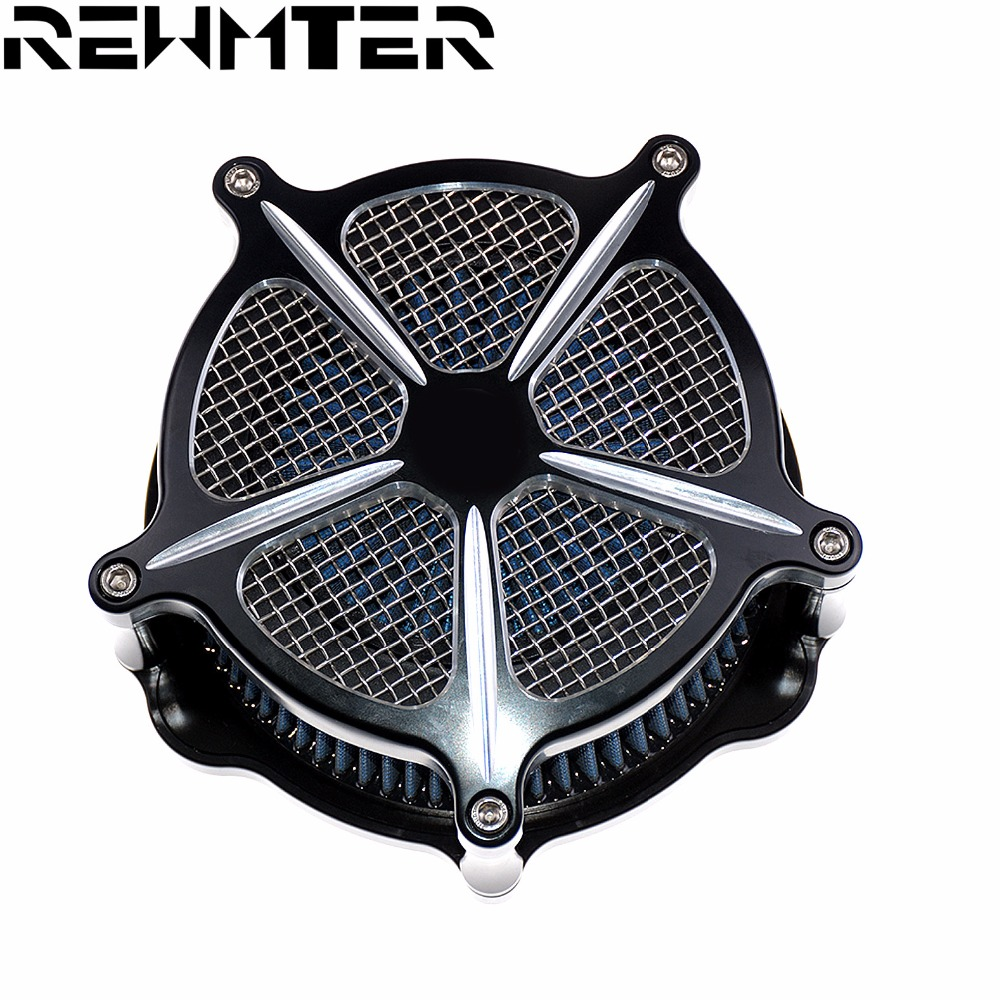 Motorcycle Air Cleaner Intake Filter air Filter For Harley Sportster models 2004 2016 Iron 883
