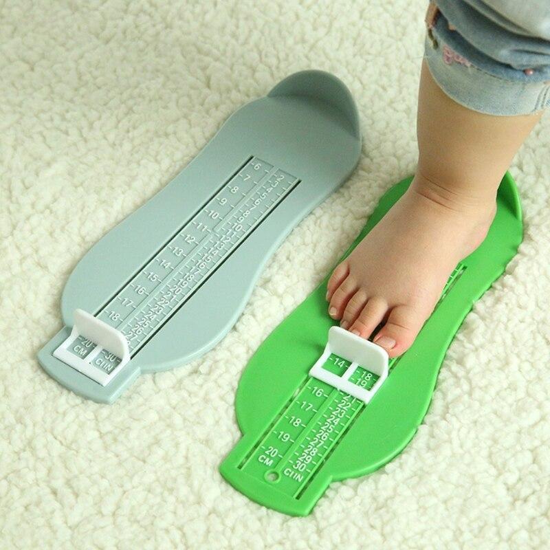 2019 zapatos de bebé niños pie zapato herramienta de medida de tamaño dispositivo infantil set de regla 6-20cm
