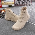 ZCHEKHEN Ocasional Otoño unisex de Moda High-top de las mujeres y de los hombres zapatos Cómodos botines Femeninos