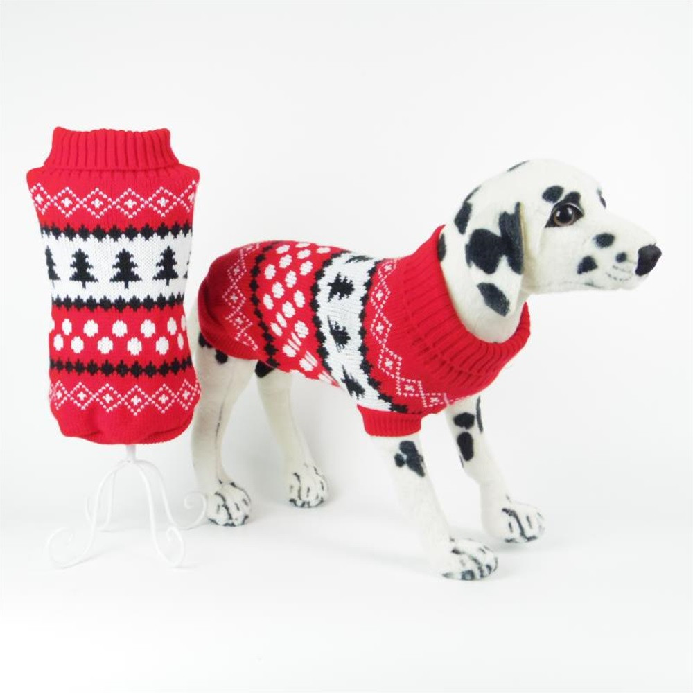 Small Dogs Sweater Clothes For Little Dogs Turtleneck Sweater Dog Clothes Small Tree Dogs Winter Sweaters