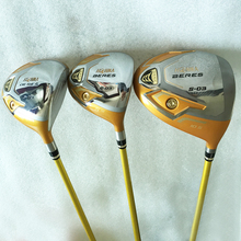 Cooyute New mens Golf clubs HONMA S-03 4 star Golf wood Complete set driver Fairway Woods with Graphite Golf shaft free shipping