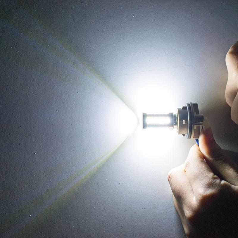 1157 P21/5 Вт BAY15D супер яркий 33 SMD 5630 5730 светодиодных фар для авто стоп-сигналы, противотуманные лампы 21/5W Автомобильные фары дневного света стоп лампы 12V - Испускаемый цвет: Белый