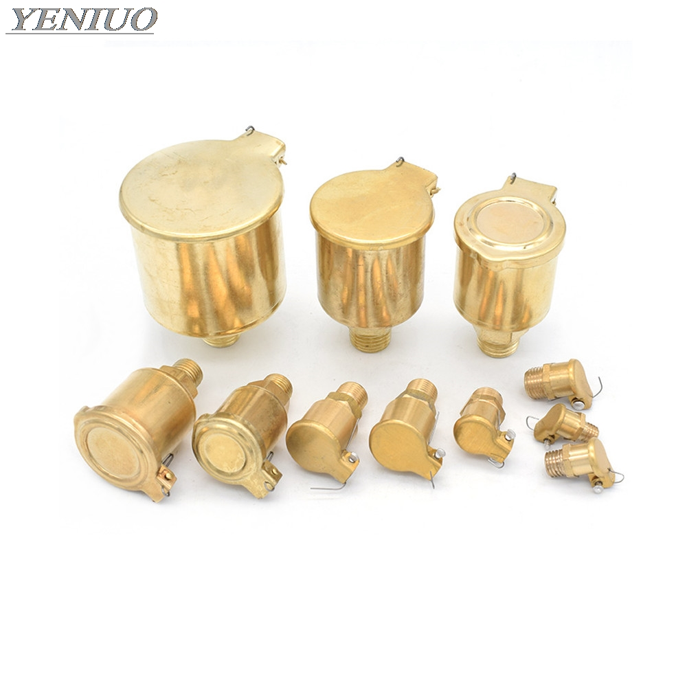 Metric Male Thread Brass Oil Cup Oil Port Cap Oiler Flip Cap Cover For Genertor Engine Bottom Brackets