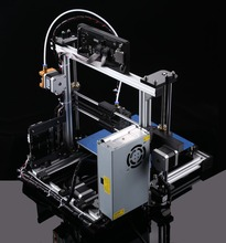 MK8 Metallic extruder Distant Feed impressora 3d Reprap Prusa i3 DIY 3d Printer package with 1Roll Filament 8GB SD card and LCD As Reward