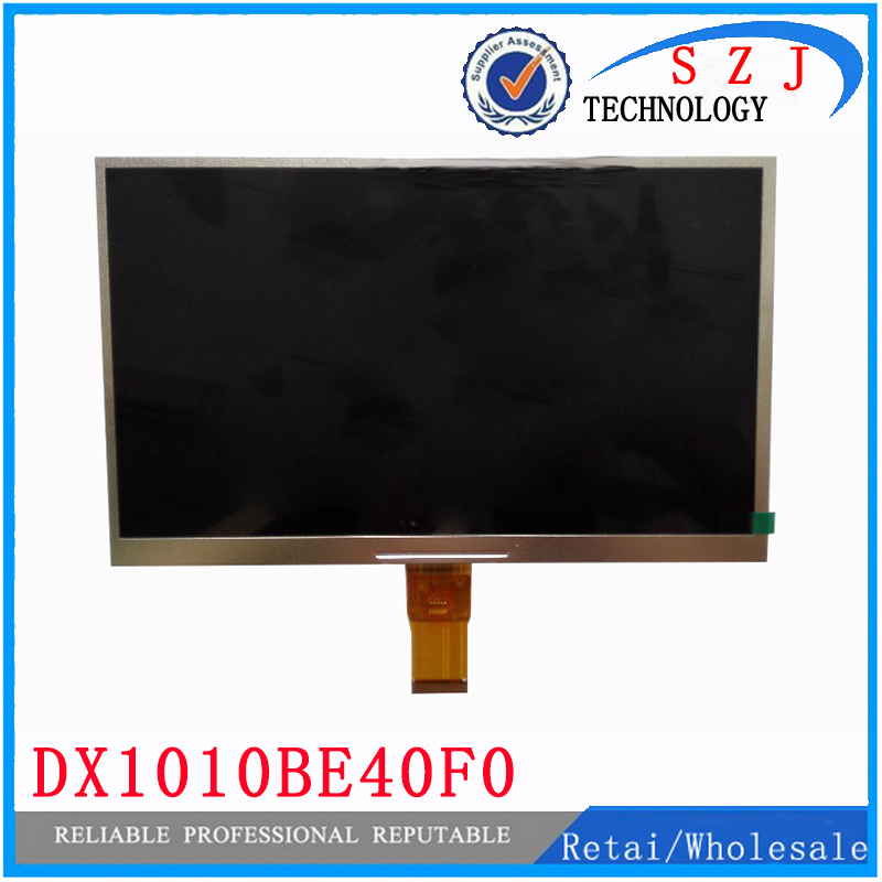 New 10.1 inch 40pin LCD display screen DX1010BE40F0 DX1010BE40 DX1010BE for tablet pc LCD panel free shipping