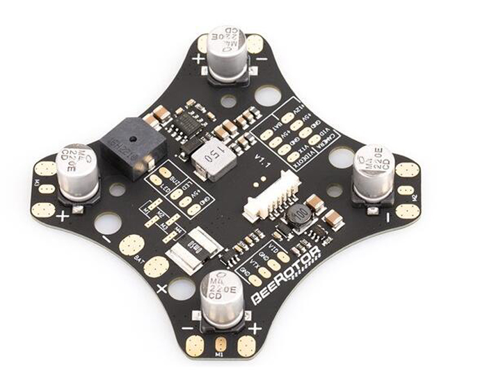 BeeRotor 4-axis mini FPV racer 190 frame PDB board capacitor plate comes with capacitance for FPV racing drone quadcopter access beerotor victory 230 mini fpv racing drones quadapter arf fully assembled racer