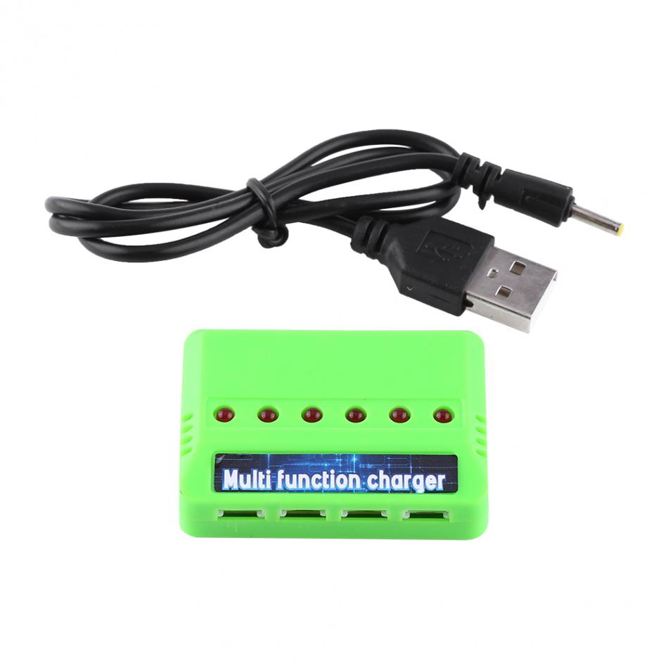 6in1 3 7V RC Li Po font b Battery b font Adapter Charger Spare Parts For