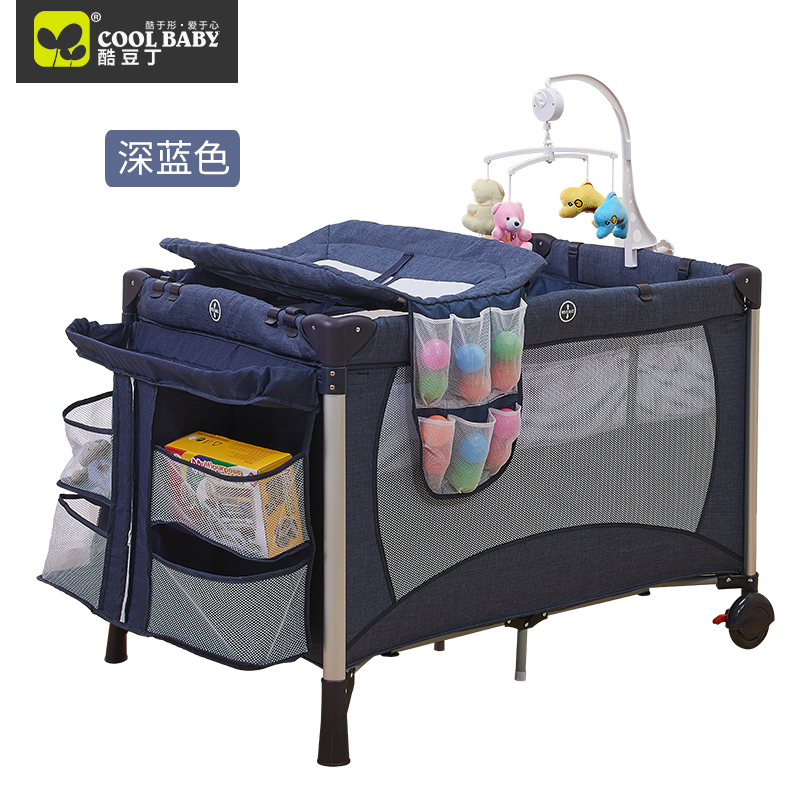 Coolbaby baby bed multifunctional folding game bed portable baby bed bb newborn cradle bed valdera portable folding baby crib multifunctional bed bb bed newborn game nets