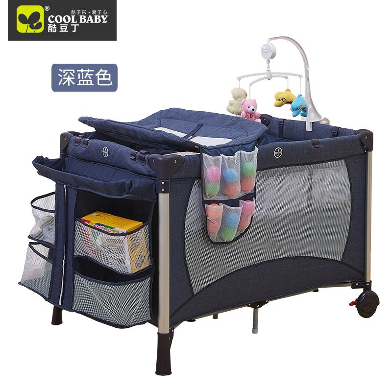 coolbaby beb cama juego plegable cama porttil cama de beb recin nacido bb cama cuna