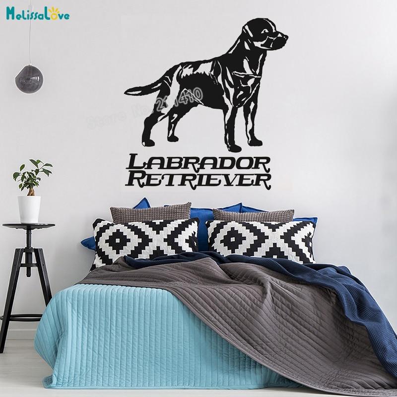 Labrador Retriever Breed Dog Wall Sticker Wall Art Decor Vinyl Decal Murals