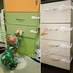 10 قطعة/الوحدة قفل أمان للأطفال حماية الأطفال قفل الأبواب للأطفال سلامة الاطفال البلاستيك قفل أفضل بيع