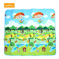 Hot 200CMx180CM Children Forest Happy City Road Carpets Printed Baby Developing Play Mat Rug Puzzle Cushion For Present 2017