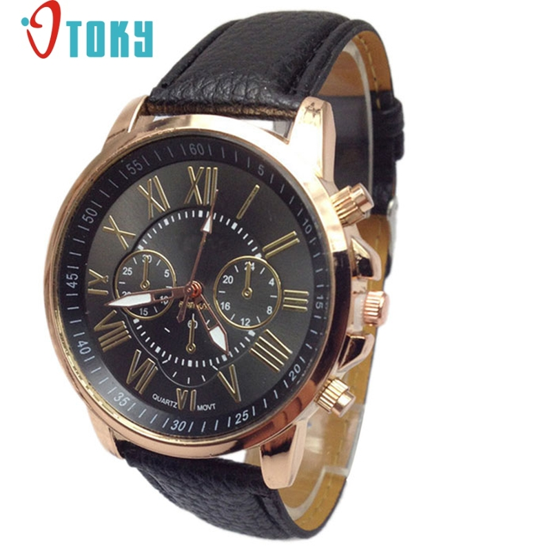 Hot hothot watch men Luxury Fashion Faux Leather Blue Ray Glass Quartz Analog Watches Casual Cool Brand fe1 novel design new luxury fashion faux leather men blue ray glass quartz analog watches casual cool watch brand men watches