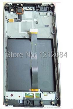 Wcdma Lcd com montagem de toque digitador de vidro + quadro para xiaomi mi4 m4 de substituição