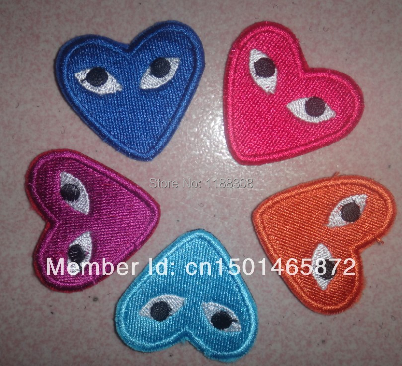 Fashion Comme Des Garcons Play Love Brooch Pin Accessories Corsage More Colors 002 Pin Storage Pin Holepin Processor Aliexpress