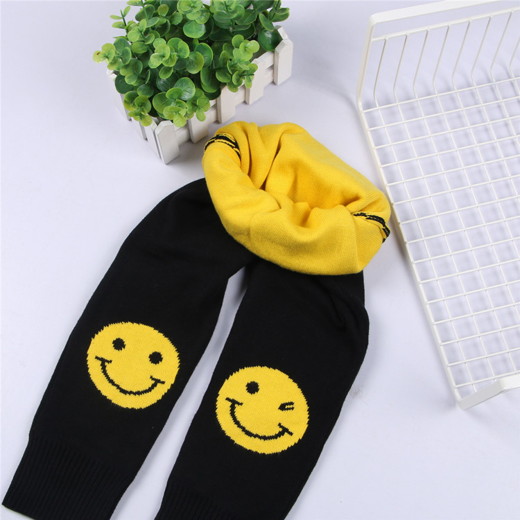 Spring Winter Girl Leggins Knitting Wool Baby Pants 100% Cotton Thick Warm Children Elasticated Waistband Pants Kid Things Cloth