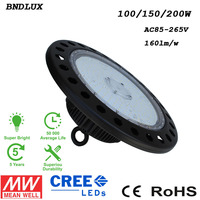 Modern Led Round High Bay, Ip65 Industrial 100 Watt 120 Watt 150 Watt 200 Watt Led High Bay Light