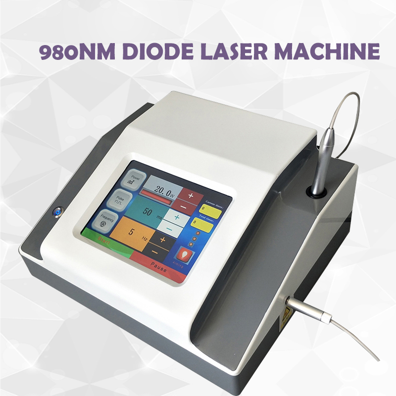 980nm Laser Diode Blood Vessels Removal Facial Beauty Machine 980nm Diode Veins Removal Machine Body Physical Therapy