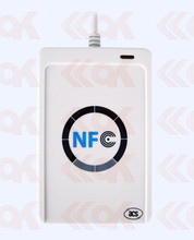 RFID Smart Card Reader ACR122 13.56MHz support Writer Read Multi-function Reader nfc reader rfid writer(China)