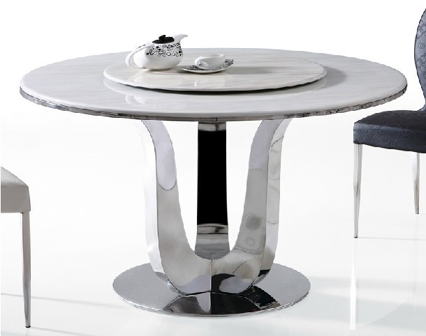 Modern Round Dining Tablein Dining Tables From Furniture On - All modern round dining table