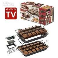 PERFECT BROWNIE PAN SET Kitchen Baking Cake Mould Bakeware Cake Making Set Tools AS SEEN ON TV