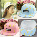 Fashion Adjustable Banana Baseball Cap Women Sport Hip Hop Snapback Cotton Hat