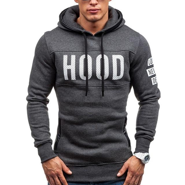 2016 Summer style Men Color offset printing men Wild casual trend British fashion letter male hooded Jacket
