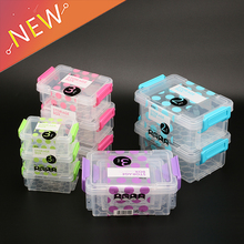 3PCS Portable Jewelry Tool Storage Box Container Multi Size Square Ring Electronic