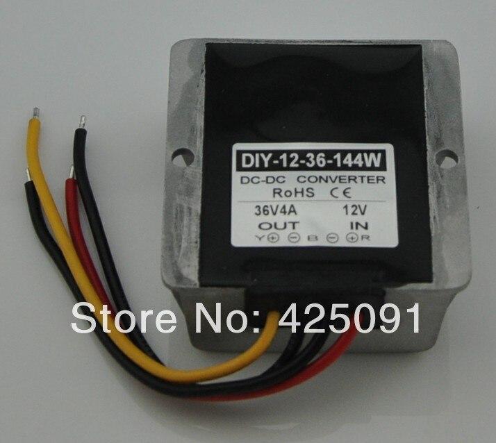 DC Converter 12V (10-20V) Step up to 36V 4A 144W DC Module power adaptor Regulator RoSH CE dc dc converter dc12v 10 20v to dc36v 4a 144w