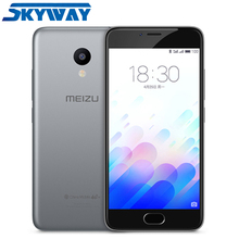 "Original Meizu M3 Mini 2.5D Glass Cell Phone MT6750 Octa Core 5.0"" HD 2GB RAM 16GB ROM 13MP 2870mAh 4G LTE VoLTE Mobile Phone"