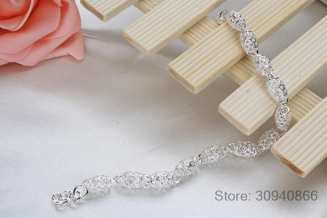 LEKANI New Fashion Charm Bracelets For Women Luxury women's 925 Sterling Silver Wedding Bracelets & Bangles Fine Jewelry 1