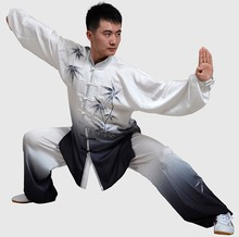 Customize Chinese Tai chi clothing Martial arts suit kungfu uniform wushu clothes embroidery for men women child boy girl kids