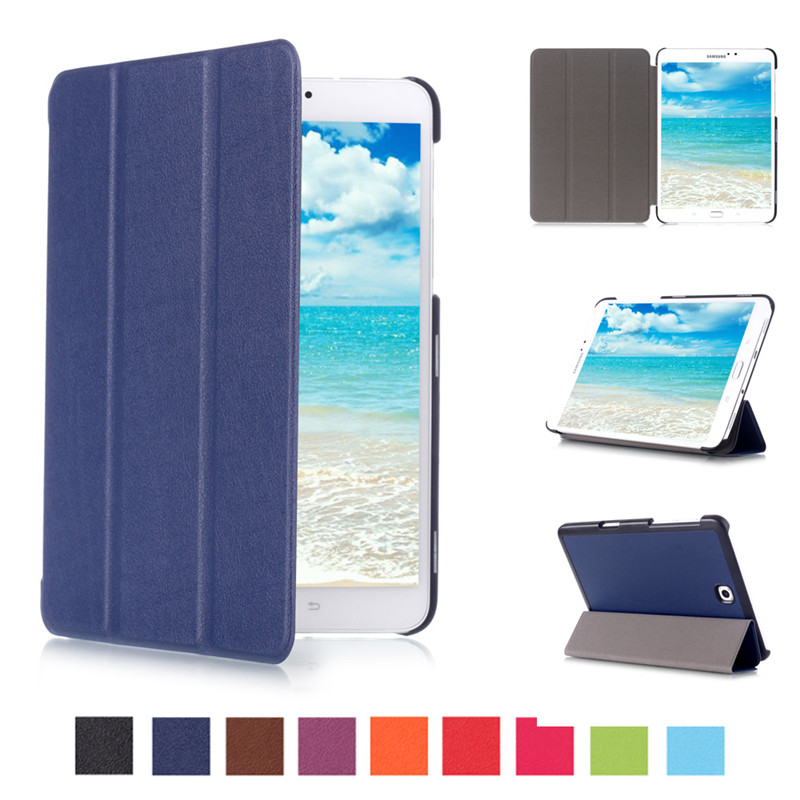 Luxury Ultra Slim Smart Stand PU Leather Cover Case For Samsung Galaxy Tab S2 8.0 T710 T715 Tablet Case