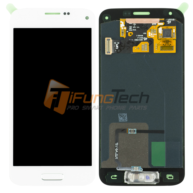 10 Pieces / Lot for Samsung Galaxy S5 MIni LCD Screen Display with Touch Screen Digitizer Assembly Replacement G800 G800F G800H
