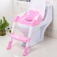 2 Colors Infant Children Kids Baby Toilet Training Non Slip Folding Potty Trainer Safety Seat Chair